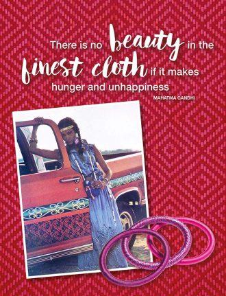 Fair Fashion von Bibi Russell: Vom Supermodel zum Fashion-Vorbild