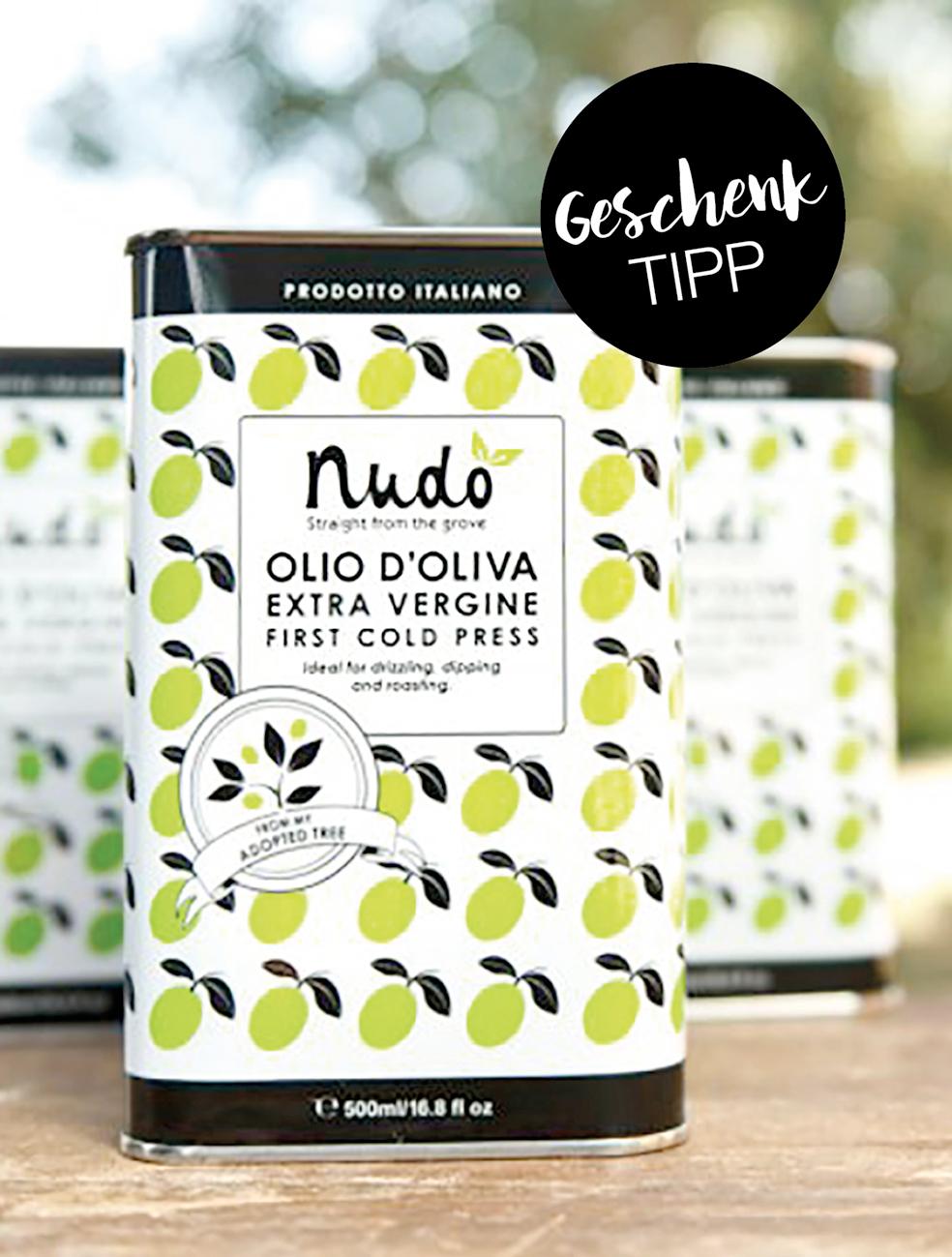 Geschenk-Tipp: Olivenöl-Patenschaft von Nudo Adopt
