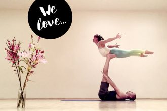 Acro-Yoga mit Lucie Beyer