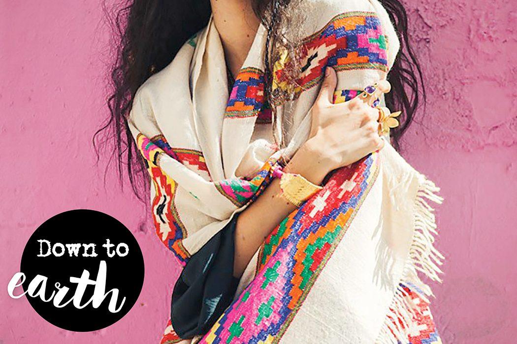 Fair Fashion Kaschmirschals von Beshlie McKelvie