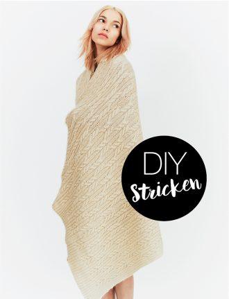 Fair Fashion, Slow Fashion und nachhaltige Mode: DIY Stricken mit Lily Cole