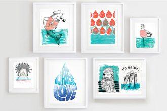 Eco Lifestyle: Illustrationen von Künstlerin Daniela Garreton