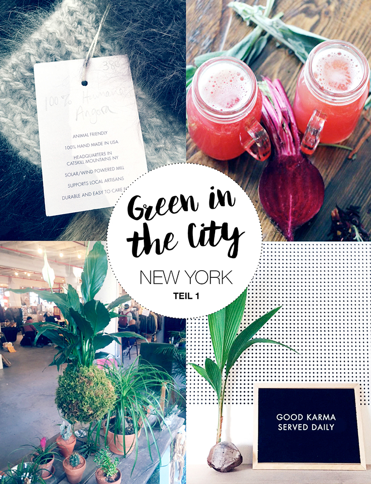 GREEN IN THE CITY Guide: Eco New York Tipps