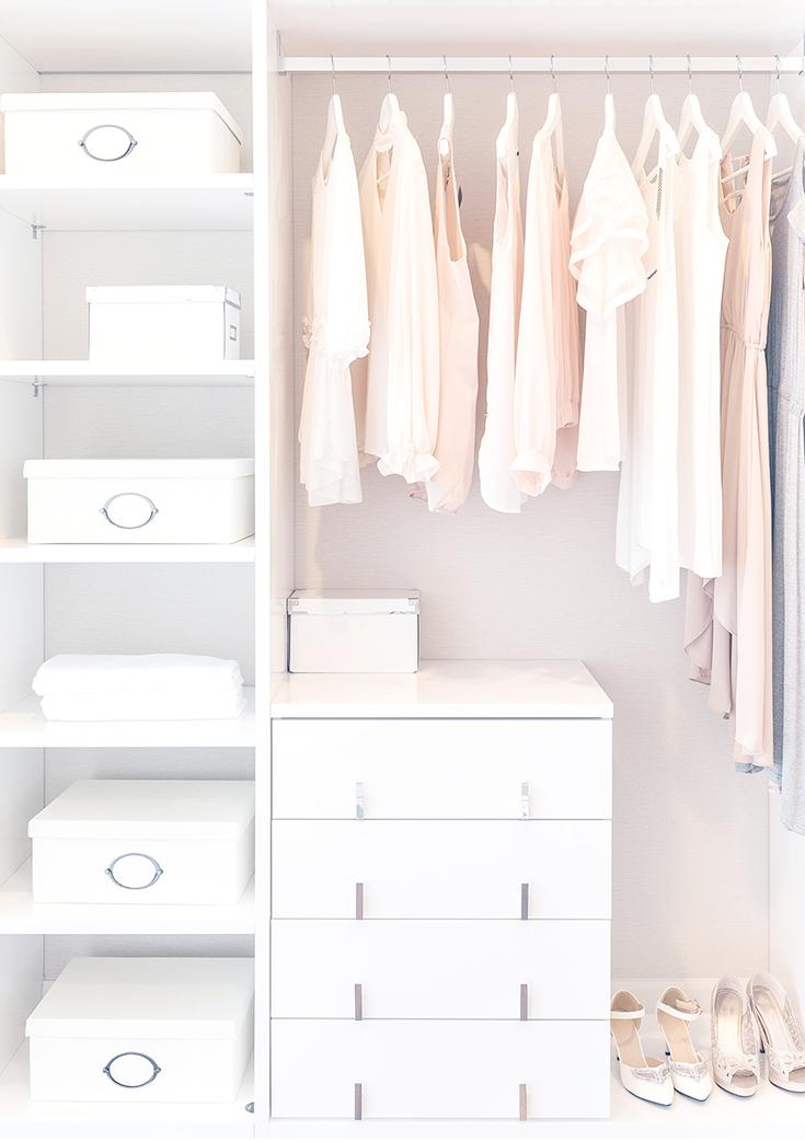 Capsule wardrobe minimalismus im kleiderschrank for Minimalismus extrem
