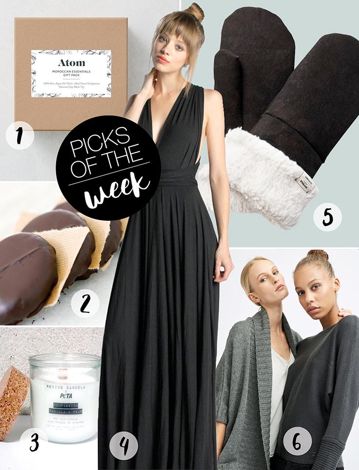 Fair Fashion, grüne Mode und Slow Fashion: Picks of the Week - die neuesten Entdeckungen von Peppermynta - Neyo, Noveaux, Myrka, Atom, Black Elephant, REVIVO CANDELA, BEAD & REEL