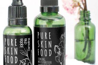 Naturkosmetik von Pure Skin Food - Superfood für die Haut