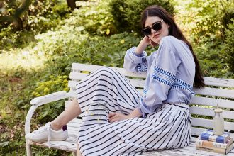 Eco Fashion: Fair Fashion and the Summer – Easy To Wear Looks! – Lemlem – Folkdays – Veja – Lunettes Vintage