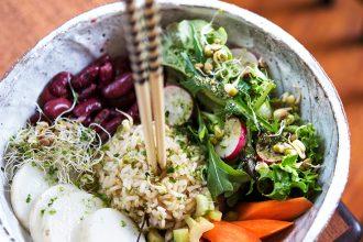 Eco Lifeystyle: Adzukibohnen mit Rettich und Reis – Makrobiotik Rezept