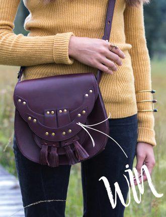 Gewinnspiel, Slow Fashion: Hiitu – Wir verlosen eine Schultertasche im Wert von 380 Euro – Verlosung – Xani Bag