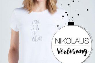 Fair Fashion, Verlosung, Nikolaus: Eyd – Wir verlosen drei »Love is in the wear« T-Shirts