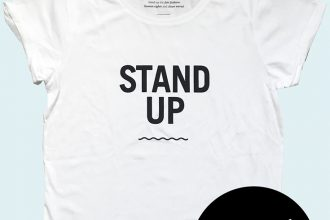 Fair Fashion, Verlosung: Waterkoog X Peppermynta – wir verlosen 3 Stand Up T-Shirts – Gewinnspiel