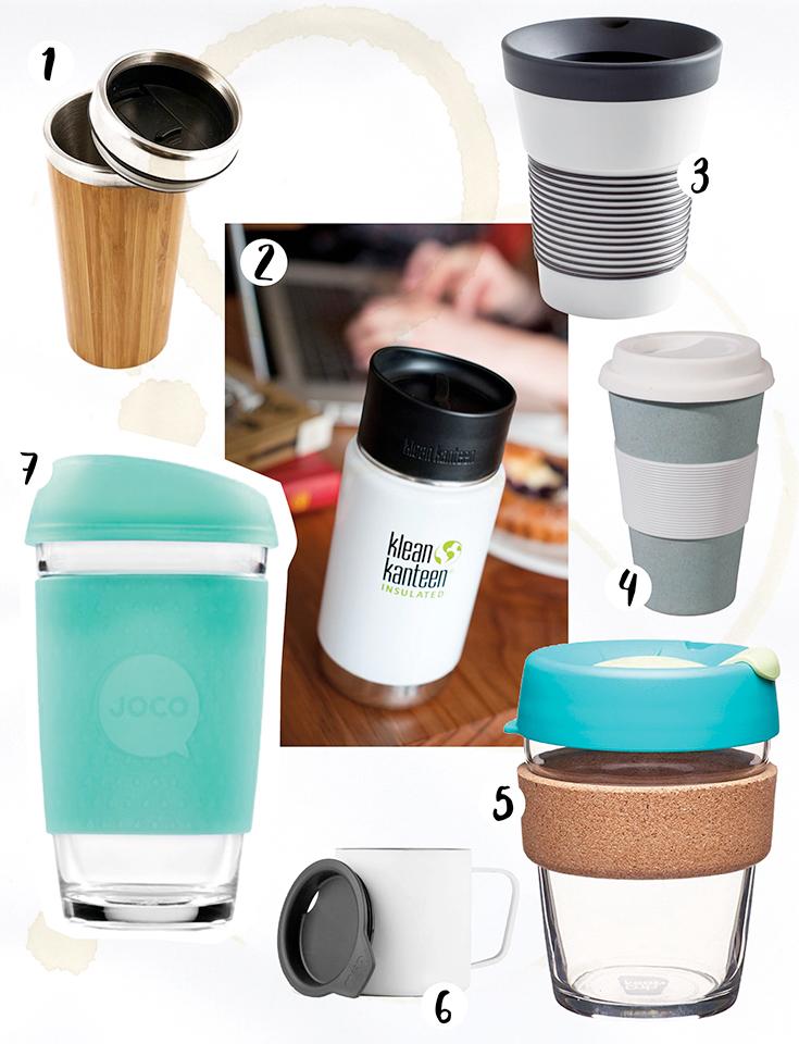 Zero Waste Kaffee: Nachhaltige Coffee to Go Becher – Klean Kanteen, Kivanta, Supersozial, Citizen Green by Bewear, Kahla, Keep Cup, Joco