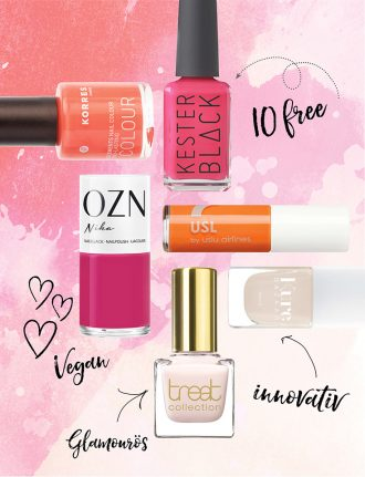 Naturkosmetik Nagellack im Test – Unsere Top 10 – Korres, Kester Black, OZN, Uslu Airlines, Kure Bazaar, Treet Collection,
