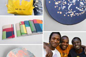 Eco Lifestyle, Inklusion: Be Able – Design mit Flüchtlingen und Behinderten – We are one Tasche, Pancake Plates, Maxheft
