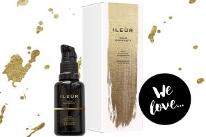 Natural Beauty: Gold Luminosity Serum von ILEUR – Berliner Naturkosmetik