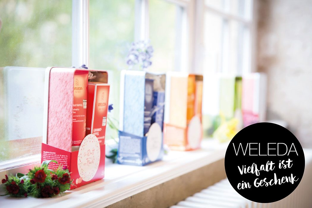 Naturkosmetik, Natural Beauty: Weleda – Wir verlosen 3 festliche Geschenksets