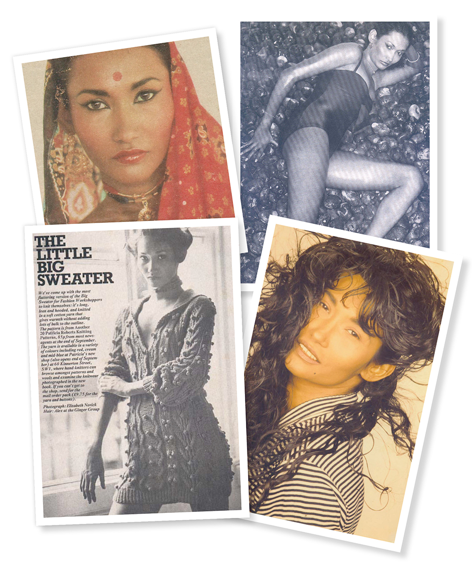 Bibi Russel war in den 80er Jahren ein gefragtes Supermodel