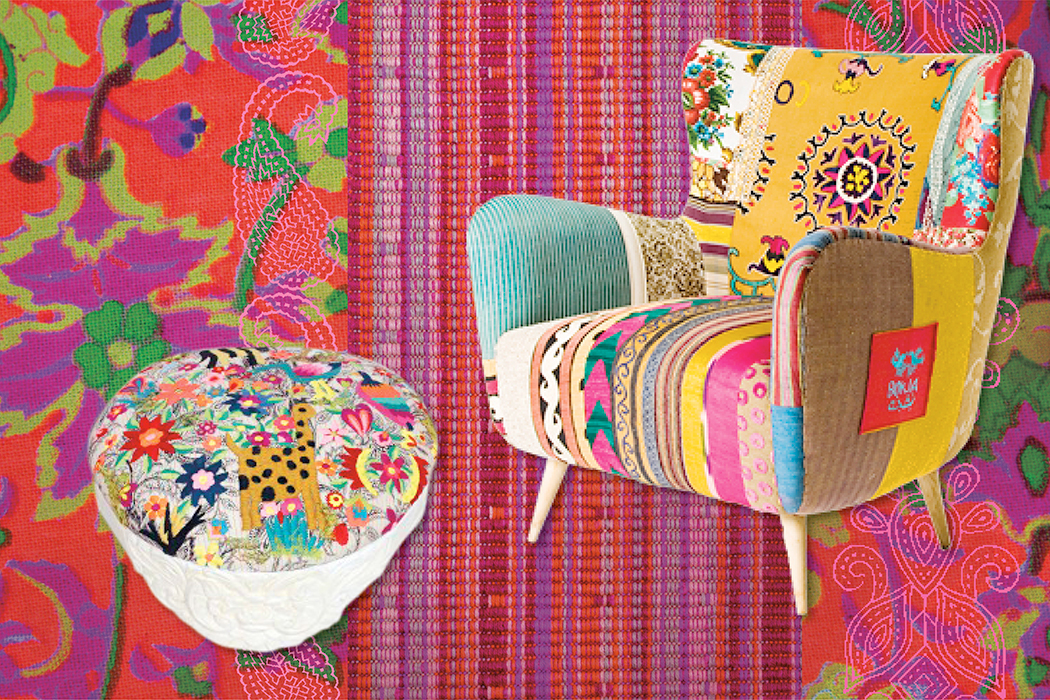 bokja made by fl chtlingen wundersch ne patchwork m bel. Black Bedroom Furniture Sets. Home Design Ideas