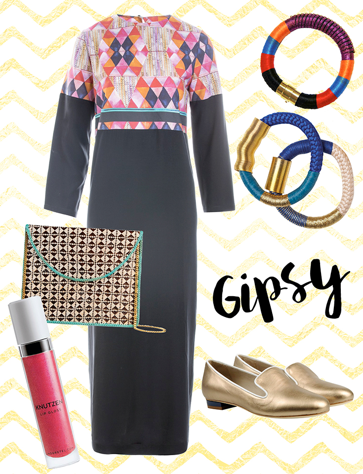 Silvester-Outfit-Gipsy