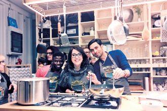 Mobiles Restaurant: Kitchen on the run – Essen mit Flüchtlingen