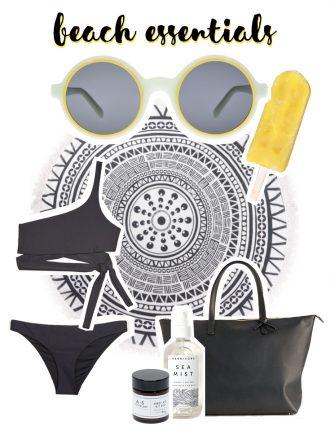 Fair Fashion und nachhaltige Mode: Slow Sunday - Eco Accessoires für den Strand - mit Wiebke Kaiser