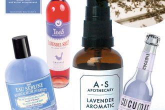 Eco Lifestyle und grün leben: Der Duft von Lavendel: Unsere Lieblings-Lavendel-Produkte - Labels: Weleda, Tamas, Cucumis, A.S. APOTHECARY, LE COUVENT DES MINIMES, FABRIC CSOKOLÁDÉ