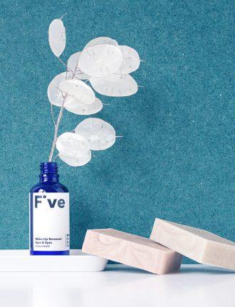 Naturkosmetik, natürliche Kosmetik und natürliche Pflege: Five Skincare– Vegane Naturkosmetik mit 5 Inhaltsstoffen - Make-Up-Remover