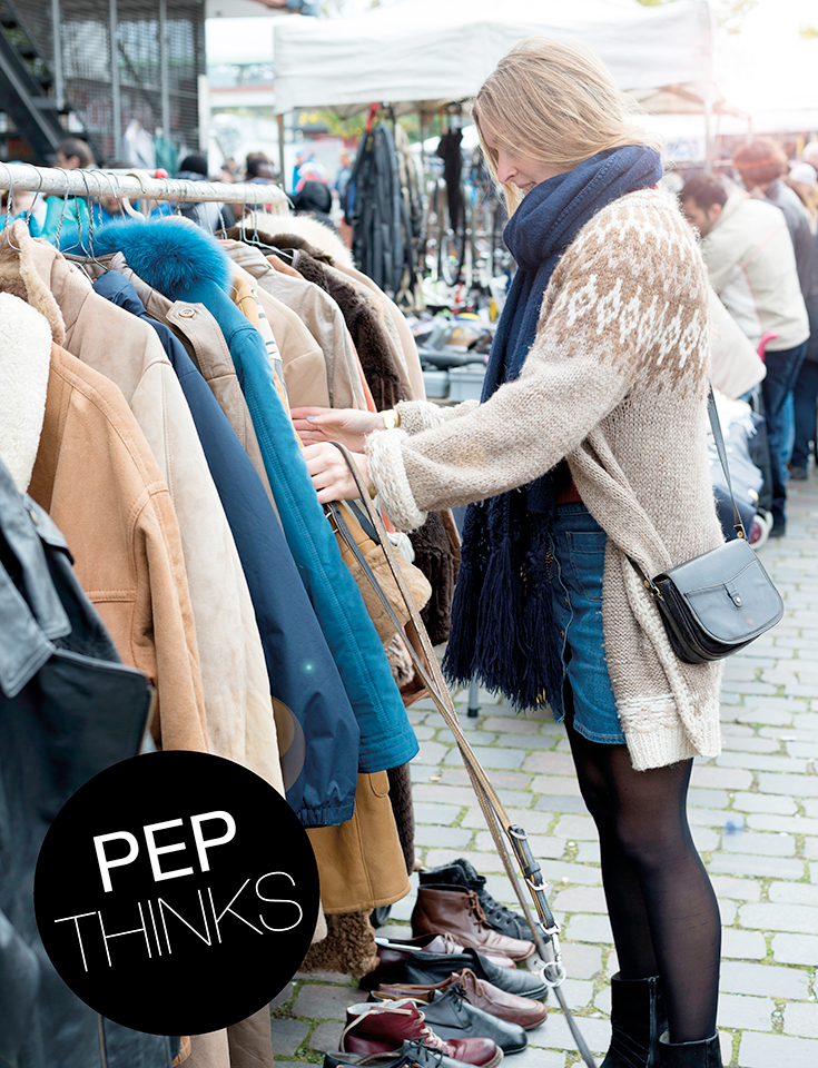 Nachhaltig Shoppen Flohmarkt Vintage