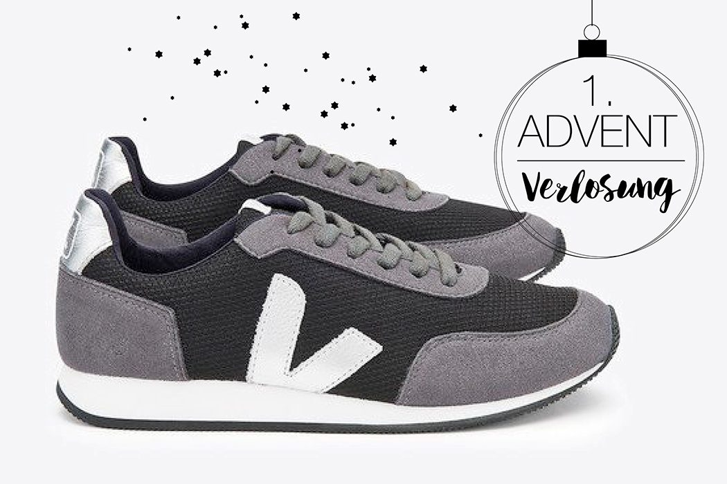 Fair Fashion, Slow Fashion und Öko Mode: Veja – Arcade Bmesh Black Grafite Silver - vegane Sneaker mit Naturkautschuksohlen und aus ressourcenschonenden Materialien