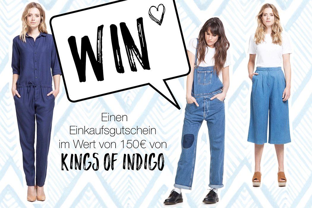 Fair Fashion, Eco Fashion und Grüne Mode: Wir verlosen einen Shopping Gutschein von Kings of Indigo