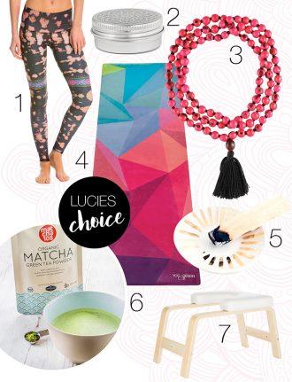 Die Yoga Lieblinge von Lucie Beyer: