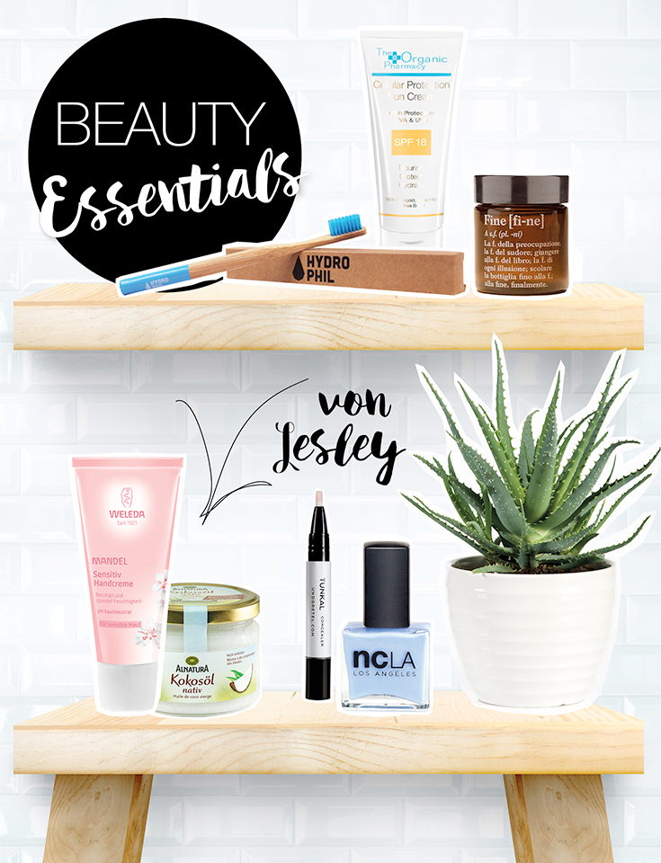 Natürliche Pflege: Lieblings-Naturkosmetik – Beauty-Essentials von Lesley