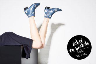 Fair Fashion, Slow Fashion und grüne Mode: Nine to Five – Nachhaltig produzierte Schuhe & Accessoires - Black Velvet, Circus, High Booties, Star Schuhe