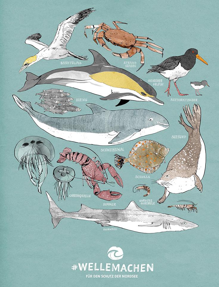 Eco Lifestyle und grün leben: Das Nordsee-Poster von Greenpeace