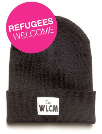 IamWelcome unterstützt Flüchtlinge