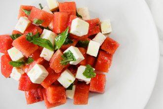 Eco Lifestyle, Gesunde Ernährung: Gegessen wird immer – Online Shop für Lebensmittel– Wassermelonen Salat