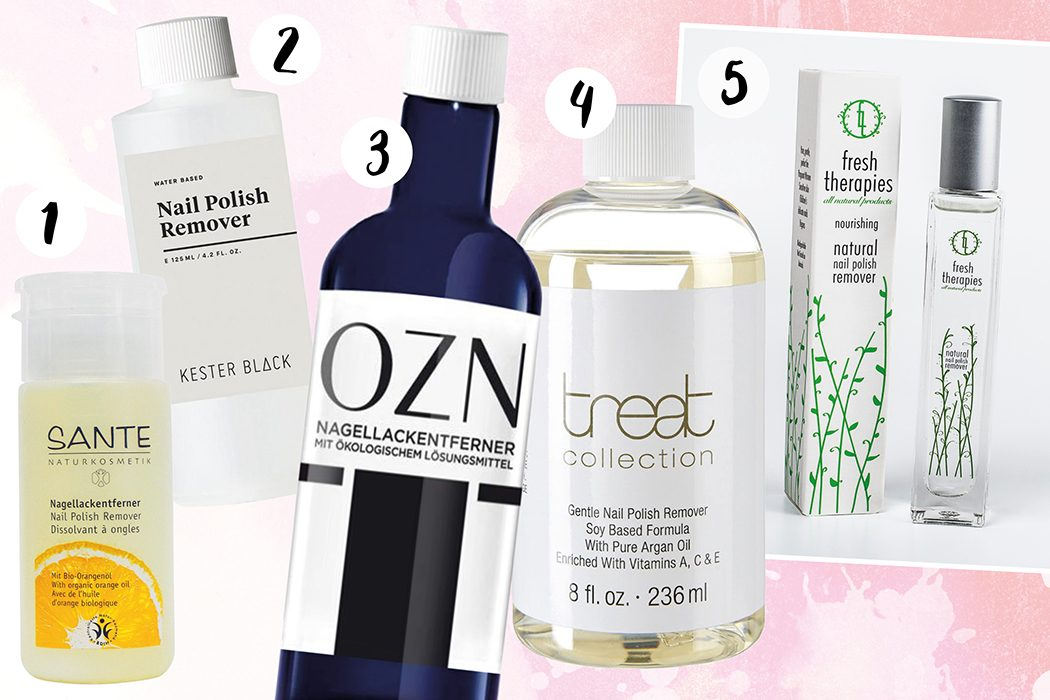 Natural Beauty, natürliche Kosmetik: Naturkosmetik Nagellackentferner – Unsere Top 5 – Sante, Kester Black, OZN, Treat Collection, Fresh Therapies