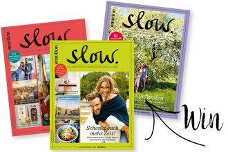 Verlosung, Eco Lifestyle: Slow Emotion Magazin – Wir verlosen drei Jahres-Abos
