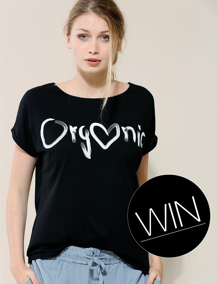 Fair Fashion, Gewinnspiel: Lanius – Wir verlosen drei Charity »Organic« T-Shirts