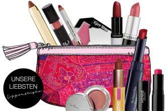 Naturkosmetik Lippenstift im Test – Unsere Top 10
