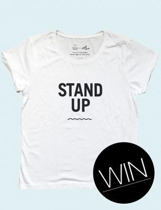 Fair Fashion, Verlosung: Waterkoog X Peppermynta – wir verlosen 3 Stand Up T-Shirts – Gewinnspiel