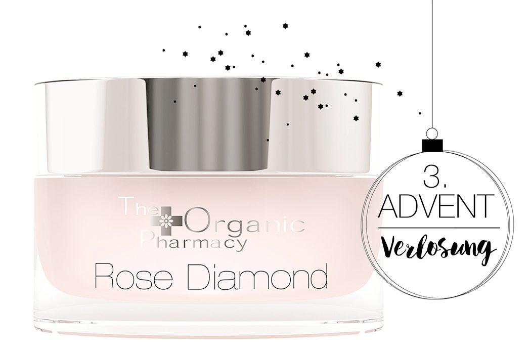 Naturkosmetik, natürliche kosmetik und natural beauty: The Organic Pharmacy - Rose Diamond Face Cream - Rose Diamond Face Cream