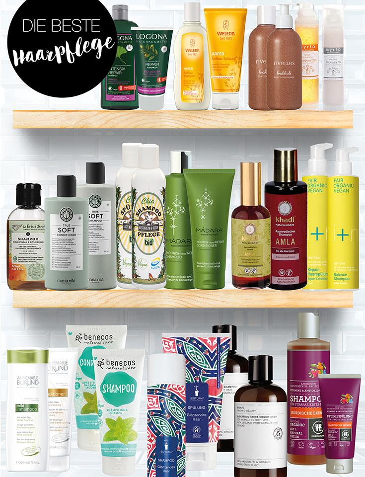 Naturkosmetik Shampoo und Conditioner – Unsere Top 15