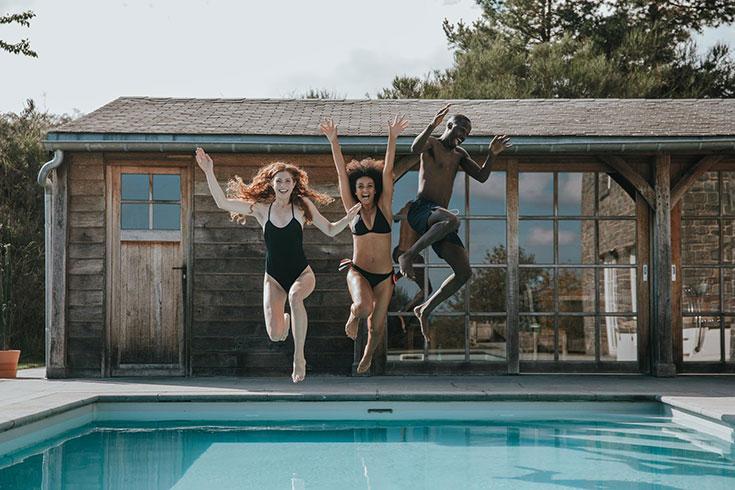 Nachhaltige Bademode - Die schönsten Eco Swimwear Labels, faire Bademode, Bikini, Badeanzug: Erlich Textil