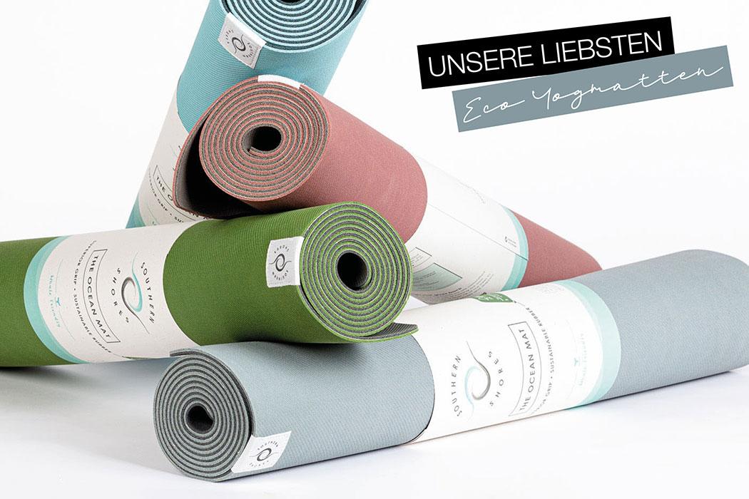 Nachhaltige Yogamatte, unsere liebsten Eco Yogamatten. Öko Matten aus Naturkautschuk, ökologische Yogamatten für Meditation und Pilates: Southern Shores