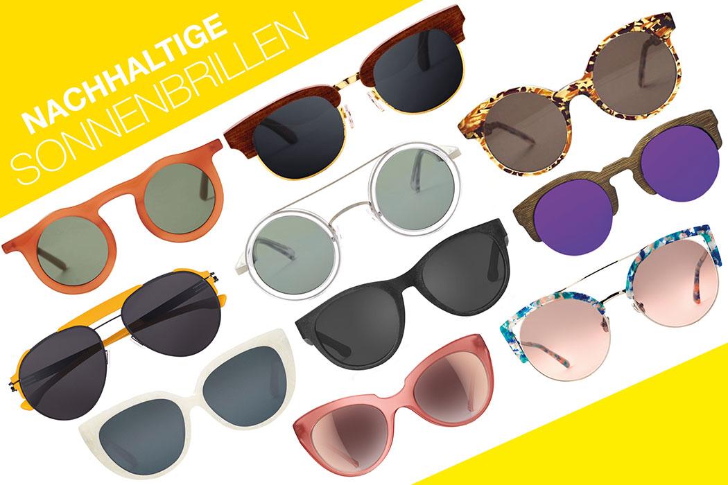 Nachhaltige Sonnenbrille gesucht? Hier kommen die besten Öko Sonnenbrillen, faire Sonnenbrille, Eco Sonnenbrille