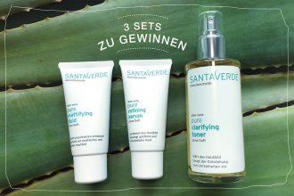 Santaverde Pure – Wir verlosen drei Naturkosmetik Sets-Peppermynta-Peppermint-Naturkosmetik-Santaverde-pure-Aloe-Vera-Toner-Serum-Fluid-Set-Verlosung-Gewinnspiel