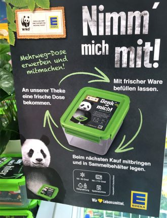 Edeka-Büsum-Jensen-Test-Mehrweg-Dose-Verpackungen-sparen-Zero-Waste-WWF-weniger-Müll