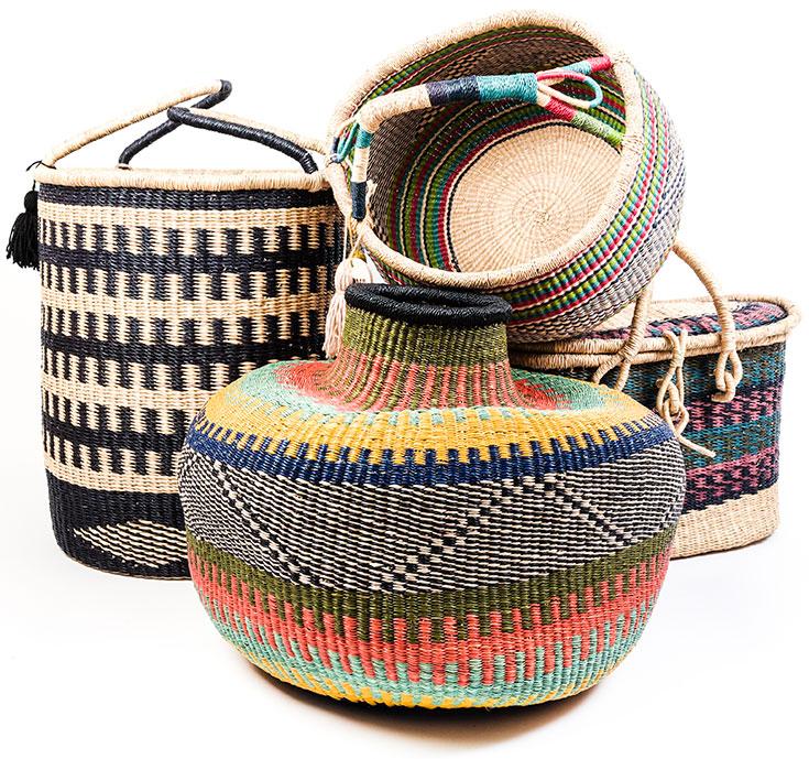 Eco-Lifestyle-Aya-Crafts-Market-Markt-Korb-Wäsche-Körbe