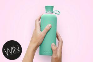 Eco-Lifestyle-Doli-Bottles-nachhaltige-Trinkflasche-mint-Glas-Flasche-Zero-Waste-Verlosung-Gewinnspiel